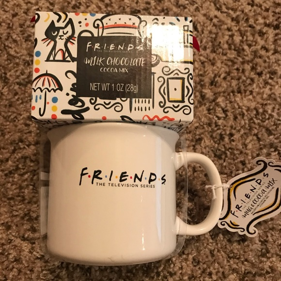 Friends tv show Central Perk Gift Mug & Cocoa